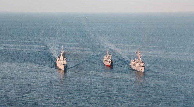 Saudi-Egyptian joint maritime training exercise. Photo Credit: SPA
