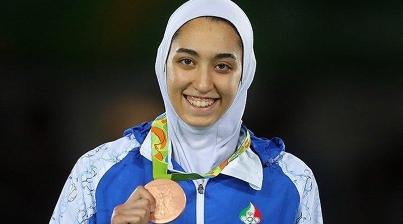 Iran's Kimia Alizadeh. Photo Credit: Tasnim News Agency