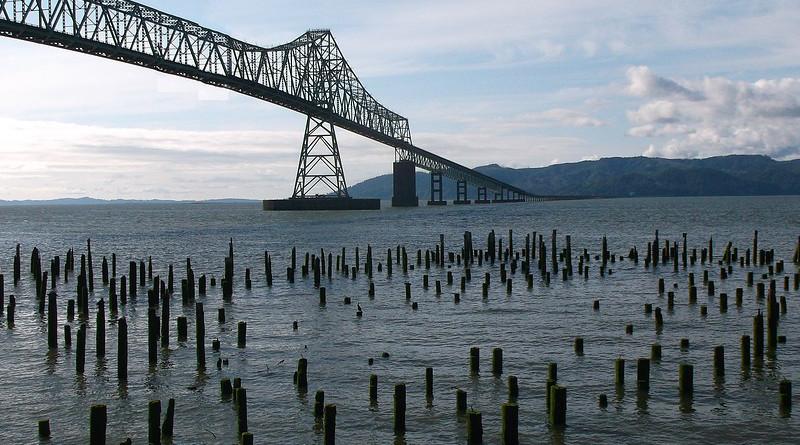 Bridge River Columbia River Astoria Megler Bridge