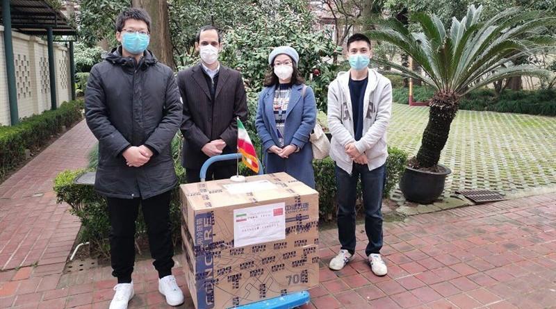 Coronavirus diagnostic test kits from China. Photo Credit: Tasnim News Agency