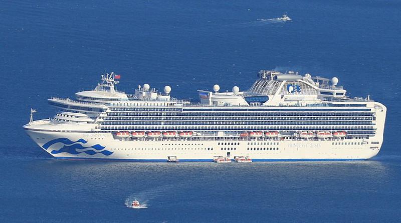 Diamond Princess cruise ship. Photo Credit: Alpsdake, Wikipedia Commons