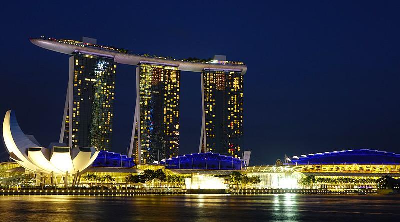 Singapore Marina Bay Sands Landmark