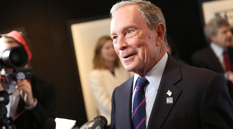Michael Bloomberg. Photo Credit: Tasnim News Agency