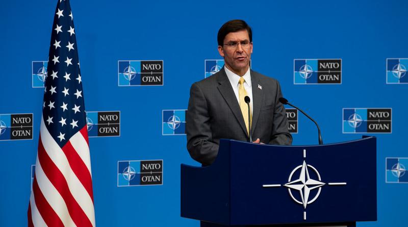 File photo of US Defense Secretary Dr. Mark T. Esper. Photo Credit: DOD