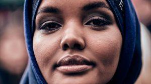 Halima Aden. Photo Credit: Myles Kalus Anak Jihem, Wikimedia Commons