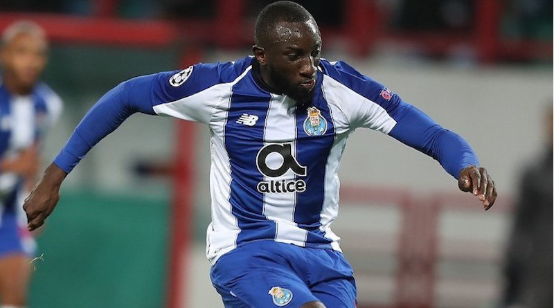 Marega against Lokomotiv Moscow in October 2018. CC BY-SA 3.0
