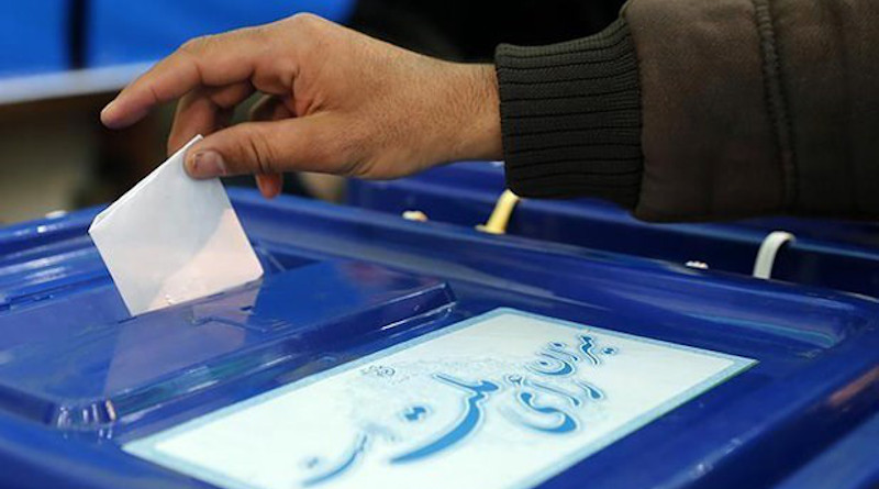 Voting in Iranian elections. Photo Credit: Tasnim News Agency