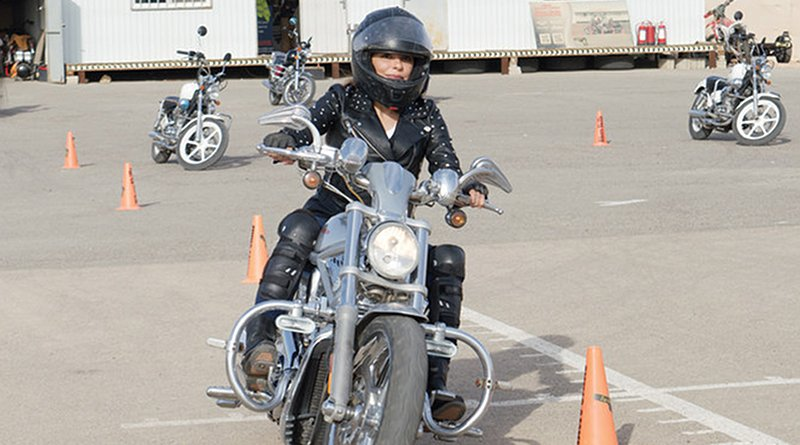 The institute is the first school in Saudi Arabia to offer motorbike training, not only to men but for women who have a passion for motorcycles. (Photos/Supplied)