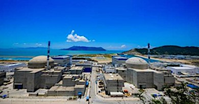 Unit 2 of the Taishan plant in China's Guangdong province entered commercial operation in September 2019 (Image: China General Nuclear)