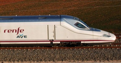 "File photo of a high-speed Renfe ""Ave"" train. Photo Credit: Renfe"