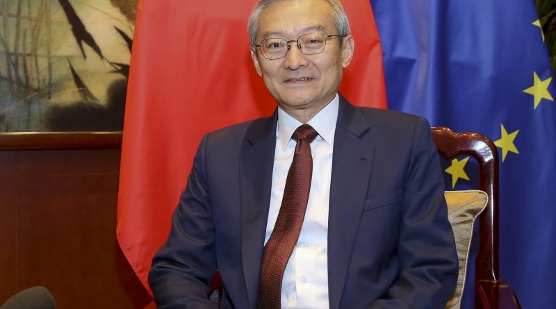 Chinese Ambassador to the EU Zhang Ming. Photo Credit: Chinese Mission to the EU