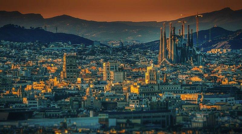 Barcelona City Spain Sagrada Familia Architecture