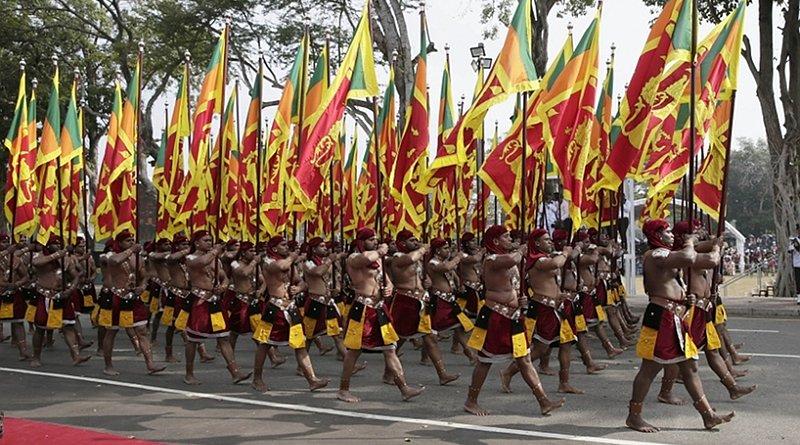 Sri Lanka National Independence Day parade. Photo Credit: Sri Lanka government