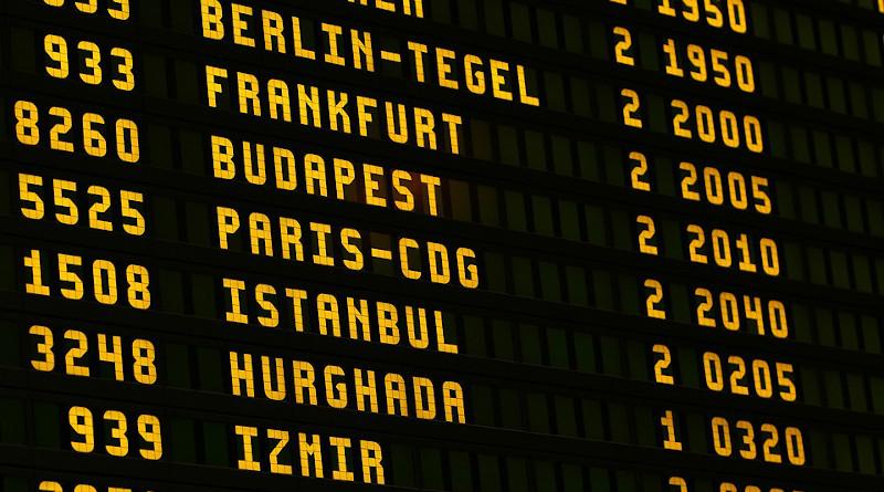 Airport Board Flying Scoreboard Letters Ad