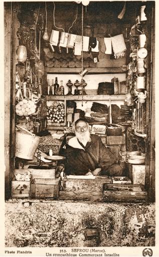 Sefrou's Jewish shopkeeper