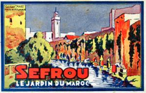 Sefrou, the garden city of Morocco