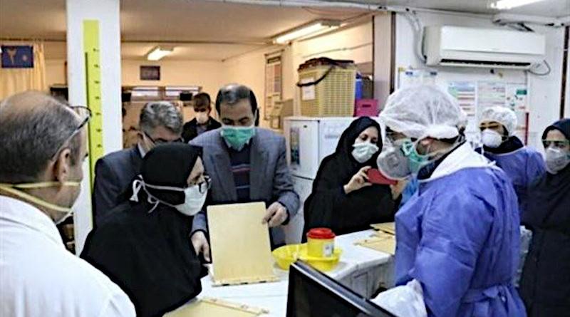 hospital coronavirus iran mask