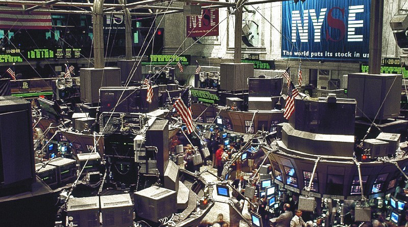 stock market trade trader Stock Exchange Trading Floor New York Manhattan