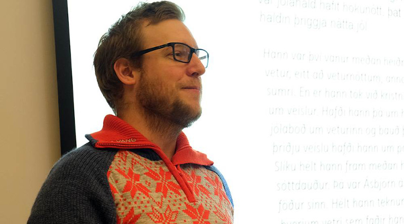 Christian Schulz, a PhD candidate at the Norwegian University of Science and Technology, believes the distinctive Norwegian yeast kveik has great potential for beer production. Photo: Svein Inge Meland