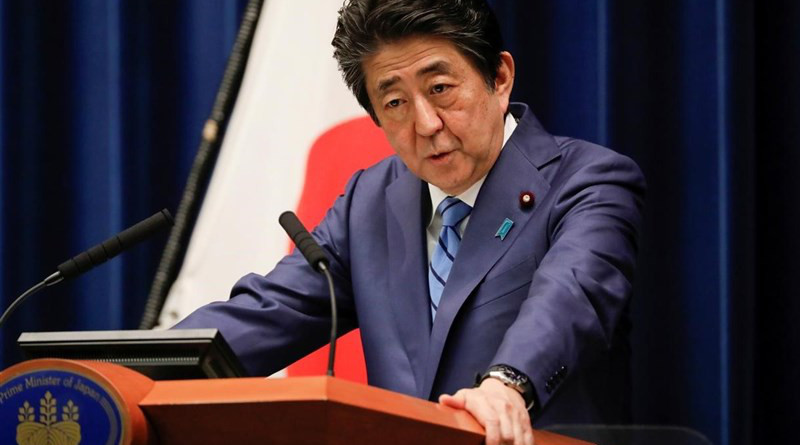 Japan's Prime Minister Shinzo Abe. Photo Credit: Tasnim News Agency