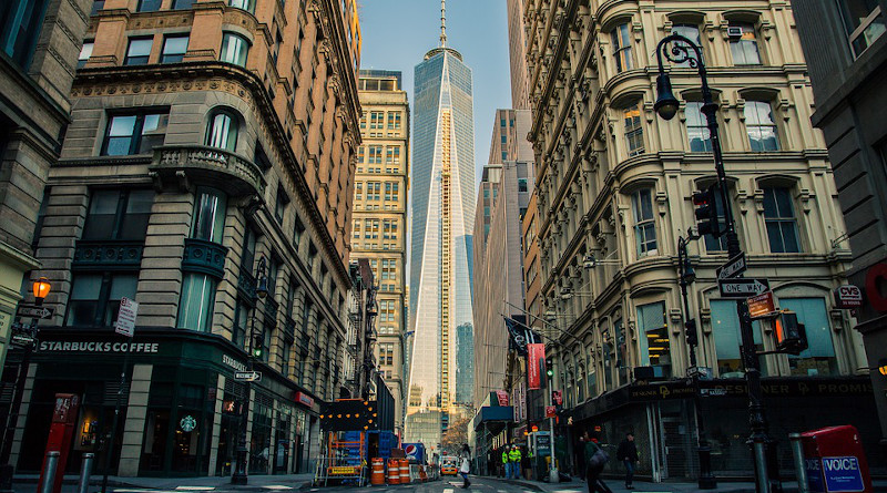 One World Trade Center New York City Usa Manhattan