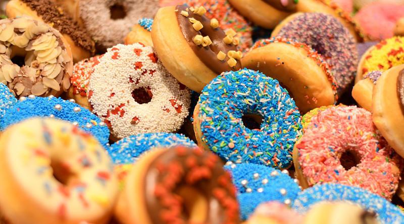 Donuts Doughnut Sweet Cosy Tasty Cake Pastry