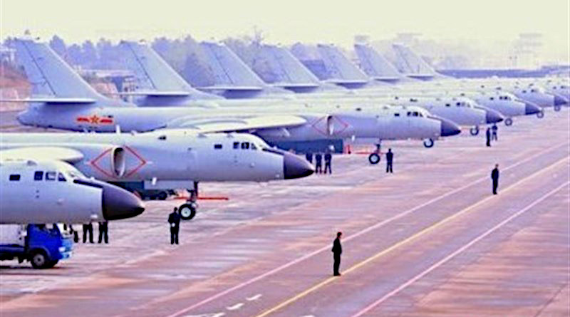 Planes in China's Air Force. Photo Credit: Tasnim News Agency