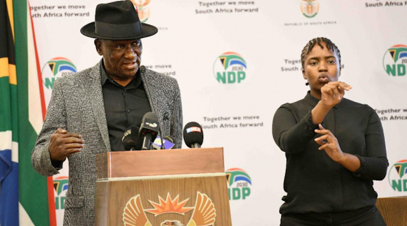 South Africa's Police Minister Bheki Cele. Photo Credit: SA News