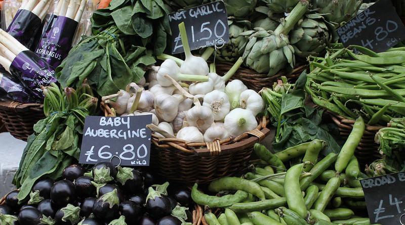 market vegetables london