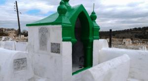 Jewish saint shrine