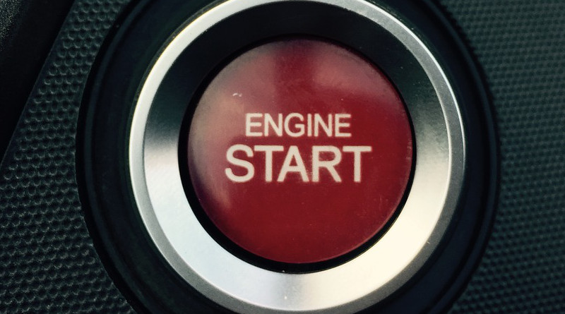 Beginning Start Car Auto The Vehicle Turn Engine