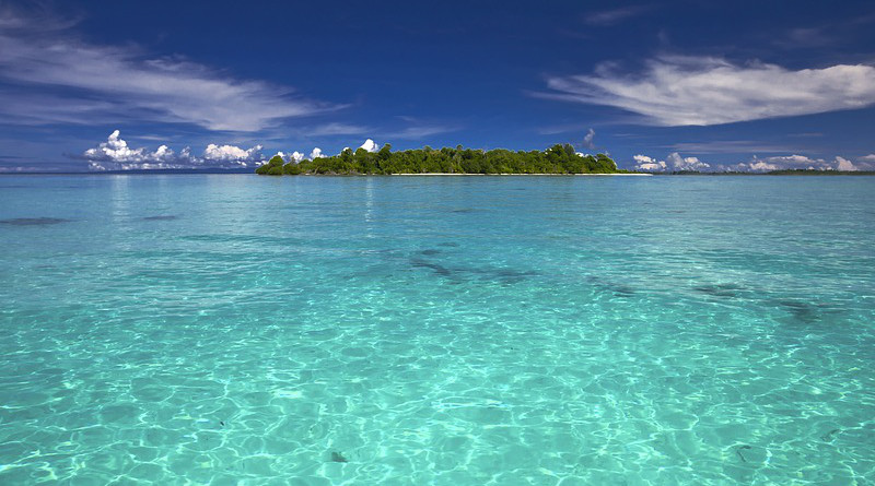 Island Landscape Sea Kojima Southern Countries Coral Reefs