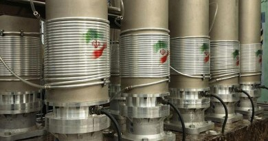 Centrifuges in an Iranian nuclear plant. Photo credit: Tasnim News Agency