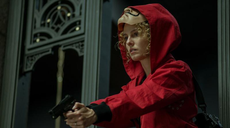 "Esther Acebes plays Monica in ""Money Heist"". (Supplied)"