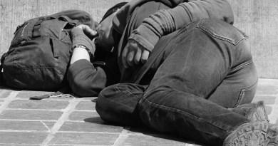 Wanderer People Man Sleep Tramp Homeless