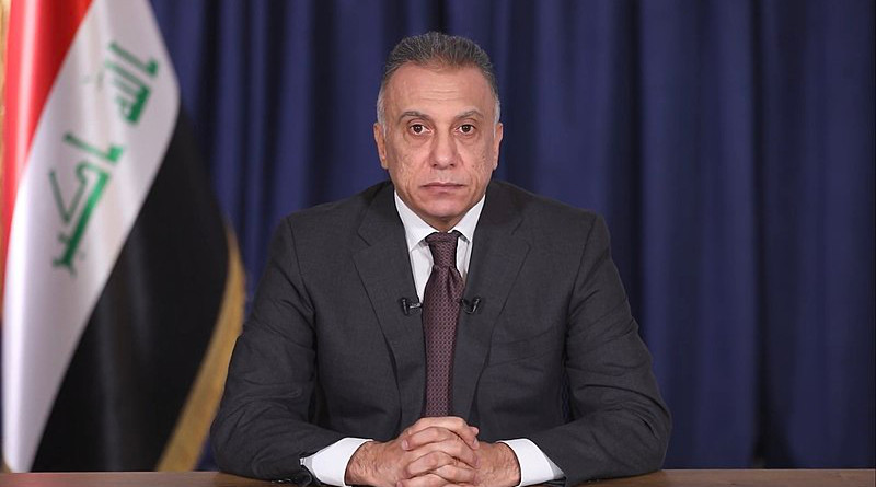 Iraq's Mustafa al-Kadhimi. Photo Credit: The Media Office of the Prime Minister of Iraq, Wikipedia Commons