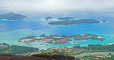 Seychelles Islands Landscape Ocean Sea