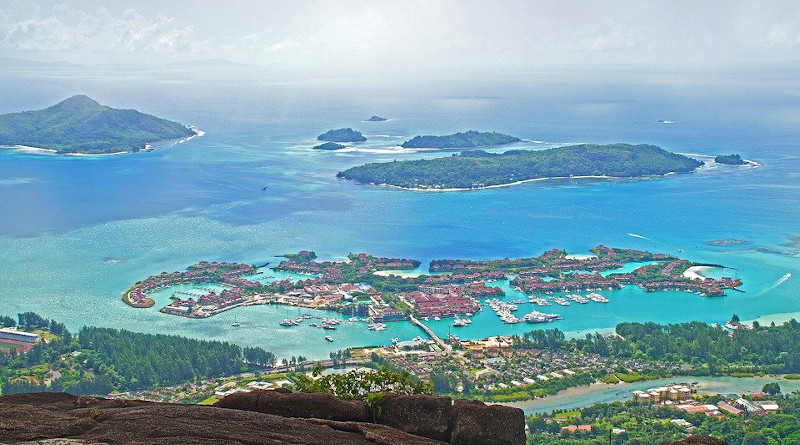Seychelles Islands Landscape Ocean Sea