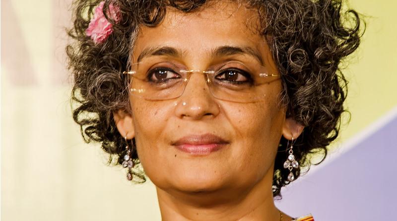 India' Arundhati Roy. Photo Credit: Augustus Binu, Wikipedia Commons