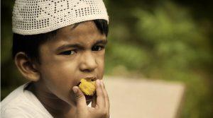 Kid Boy Muslim Eat Eating Ramadan Islamic Islam