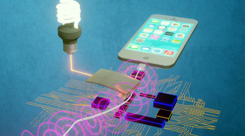 A team of scientists has developed a new mechanism to harvest stray magnetic fields all around us and convert the energy into useful, usable electricity. CREDIT Kai Wang