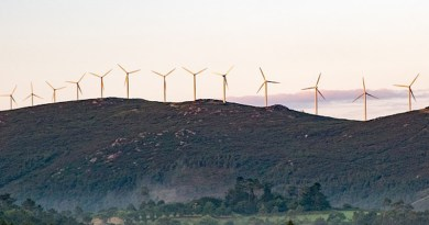 Wind Power Renewable Energy Spain Galicia The Windmills Power Station Landscape