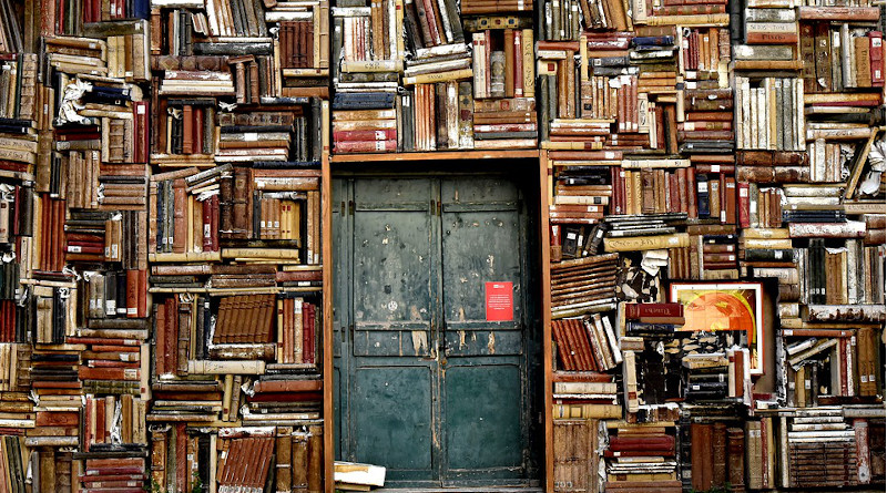 Wisdom Books Door Entrance Culture Library Knowledge