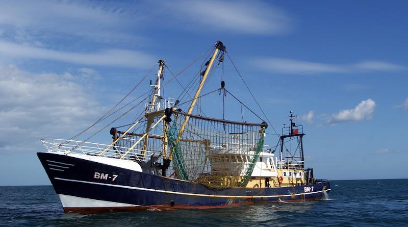 Sea Trawler Boat Fishing Ship Sky Water Ocean