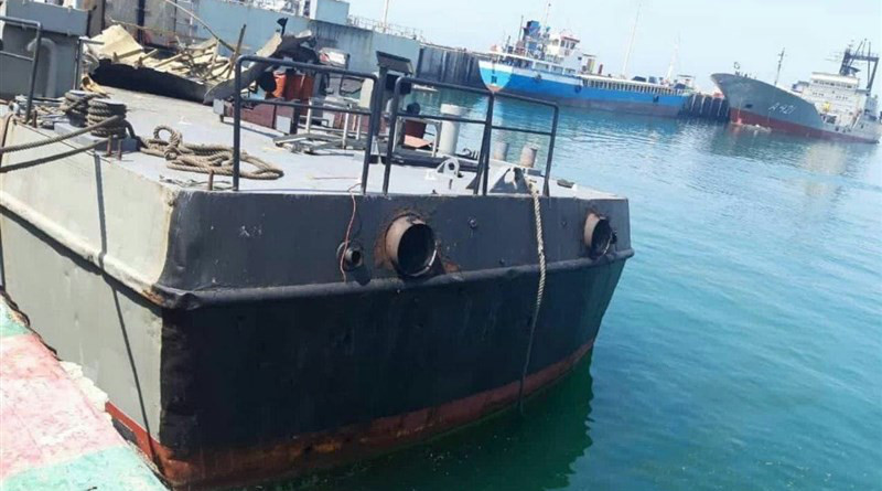 Iran's Konarak logistical and support vessel. Photo Credit: Tasnim News Agency