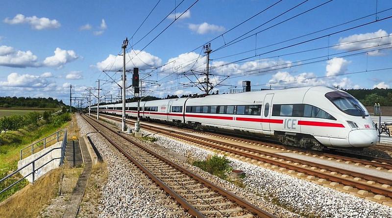 Deutsche Bahn Germany Transport System Train Station Railway Line Travel High Speed