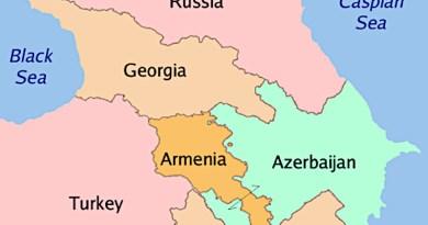 Caucasus countries Georgia Armenia Azerbaijan