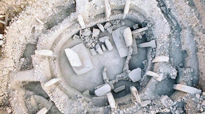 Göbekli Tepe, Enclosure C. CREDIT: Gil Haklay/AFTAU.