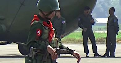 Tatmadaw soldiers in Myanmar. Photo Credit: DMG