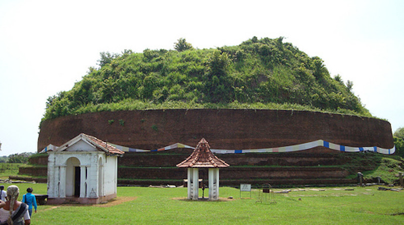 Deegawapi is a Buddhist sacred shrine in Sri Lanka. It is located in Amapara District in Eastern province. Photo Credit: Pfrost9, Wikipedia Commons